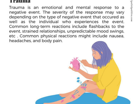 Mental Wellbeing Dictionary: T For Trauma