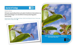Cientistas Brasileiros na capa do Journal of Ecology: Como a Mudança no Clima atua na Biodiversidade