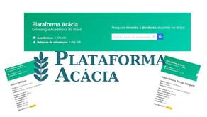Saiba quem Orientou quem no Brasil - Plataforma Acácia - Quem é Quem na Pós-Graduação!
