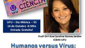 """Dia 16 de Outubro - Dia """"C"""" da Ciência, na UFU - Universidade Federal de Uberlândia, event"""