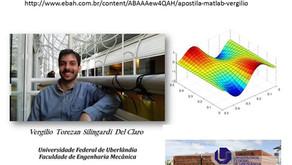 Livro sobre MATLAB publicado por doutorando em Mecânica da UFU, atinge 10.500 downloads! PDF livre n