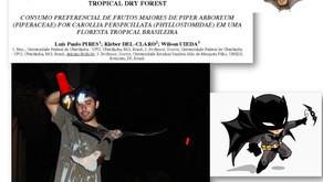 Luís Paulo Pires, entre as pesquisas com morcegos, aves e o Inst. de Geografia da UFU