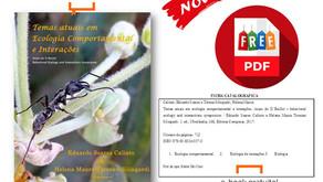 Temas atuais em Ecologia Comportamental e Interações - Novo Livro e-book gratuito - PDF .