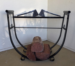 Firewood cradle
