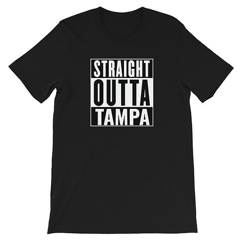 Straight Outta Tampa Short-Sleeve T-Shirt