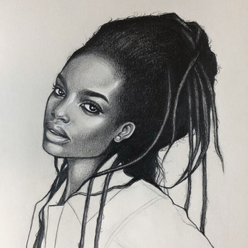 Pencil portrait, 2019.