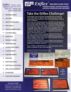 Take the Challenge flyer