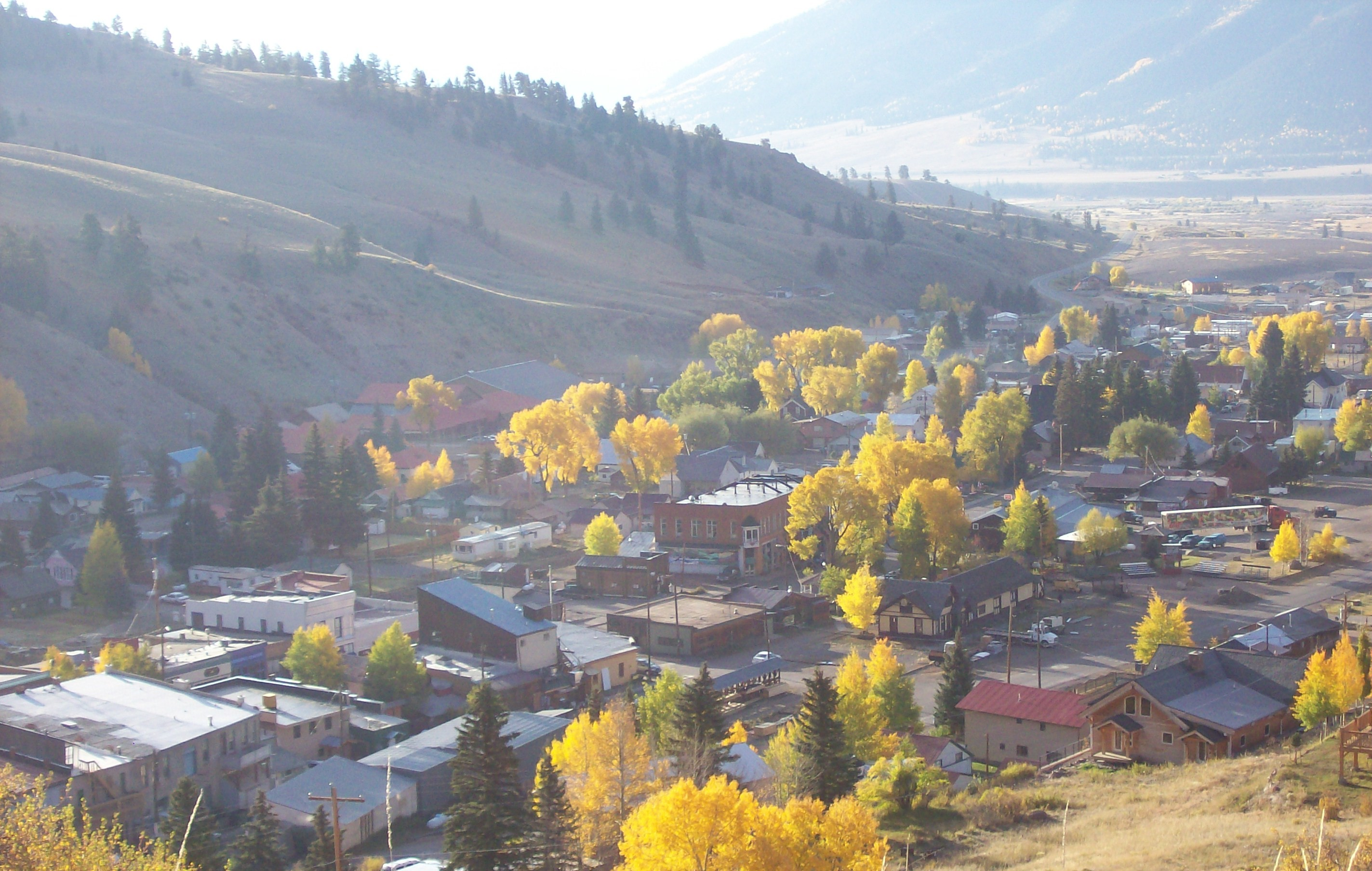 Arial View of Creede