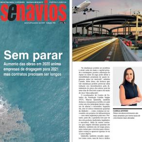 Infraestrutura: Camila Affonso debate os rumos do setor na Portos e Navios
