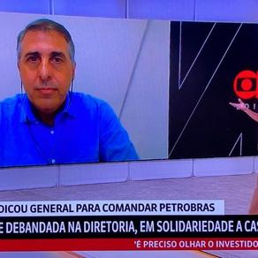 Marcus D'Elia falou na GloboNews sobre as mudanças no mercado de combustíveis e o rumo da Petrobras