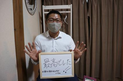 筋トレ大好き拓也さんです。