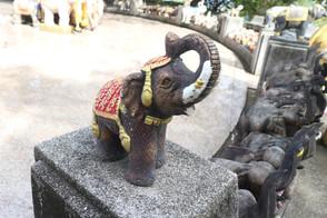 象は王を守り戦う勇気と誇りの象徴