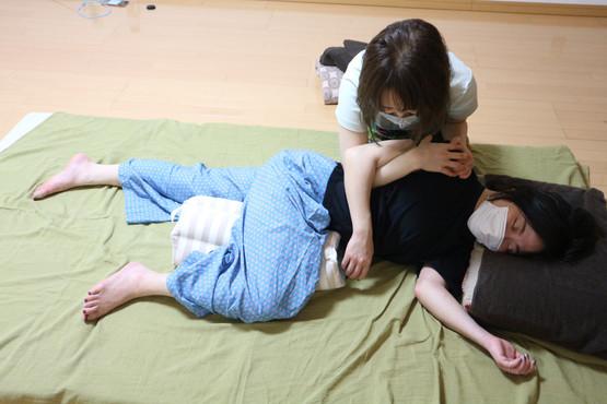 腰に効く施術