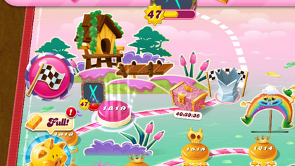If only I'd used my time more wisely over lockdown, I could have reached the end of Candy Crush!