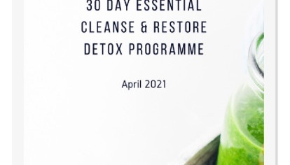 Spring clean your body and mind - starts 26th April