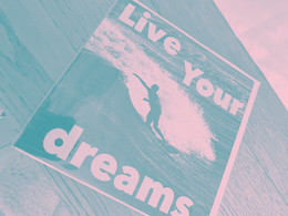 Don't just follow your dreams, live them ...