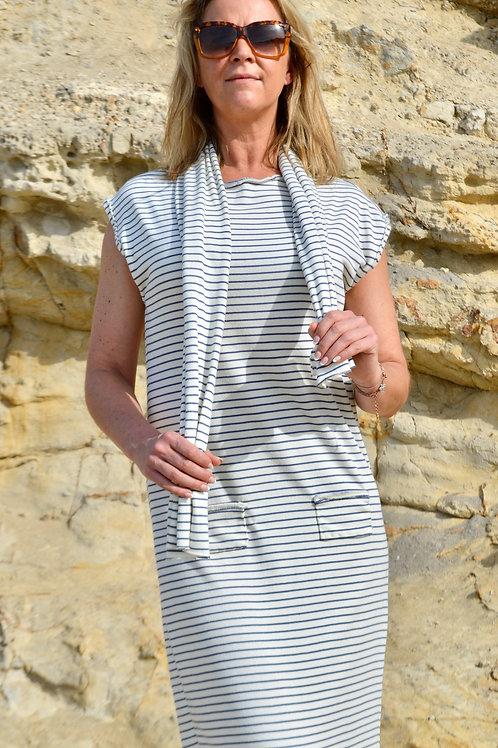 MARIAN MARINE DRESS