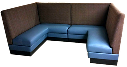 restaurant banquette seating furniture  upholstery