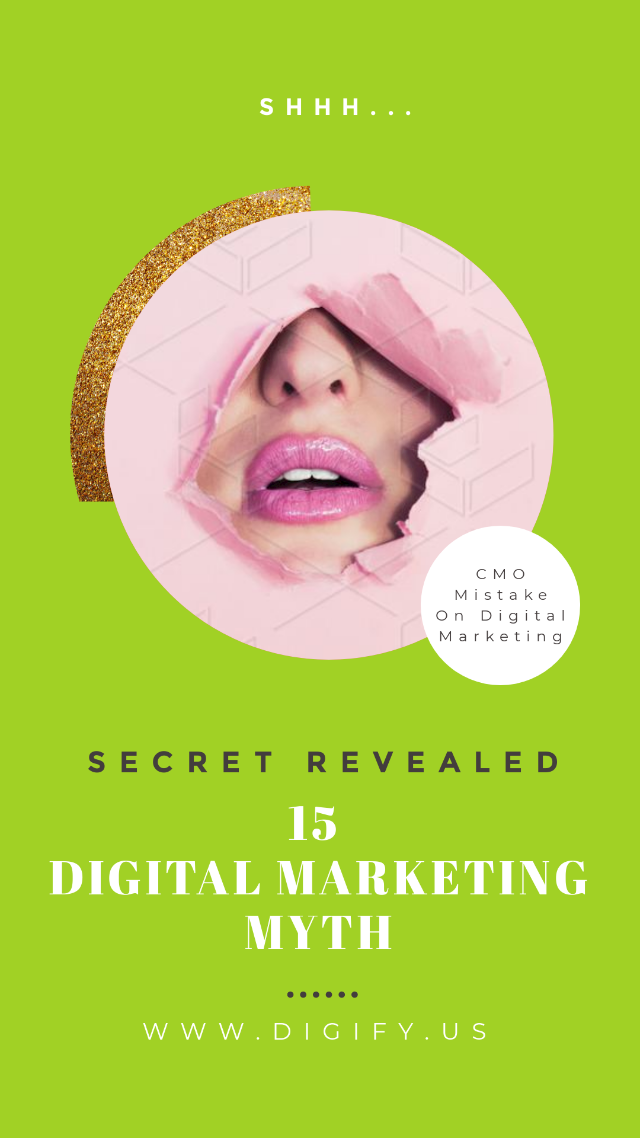 15 digital marketing myth