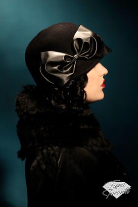 Garbo felt hat