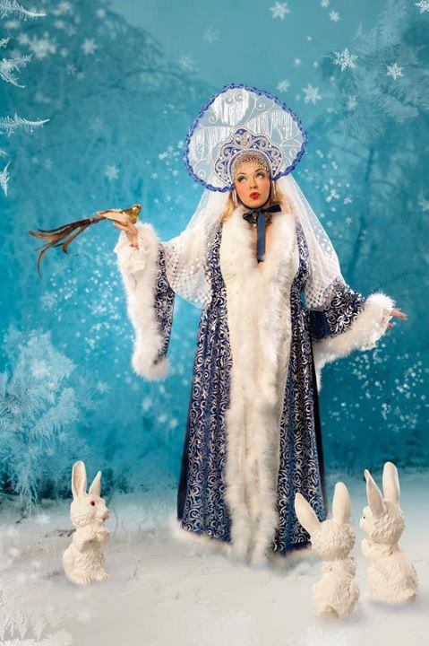 Bettie in the Snow