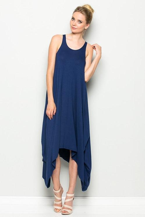 Sleeveless Harem Dress