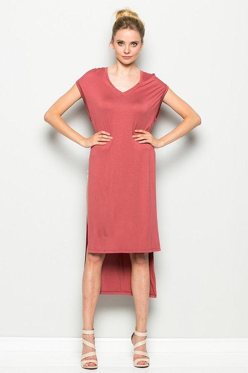 Hi-Lo Tee Dress