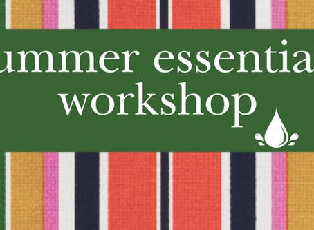 Summer Essentials Workshop LIVE
