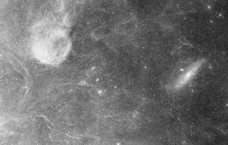 Reaching out to M31