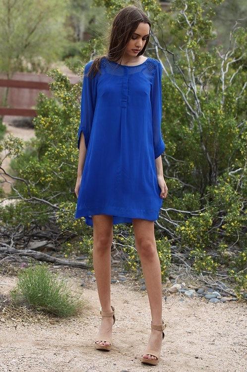 Henley Neck Dress