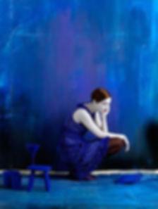 szomorú nő