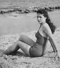 Mom in bathing suit.bmp