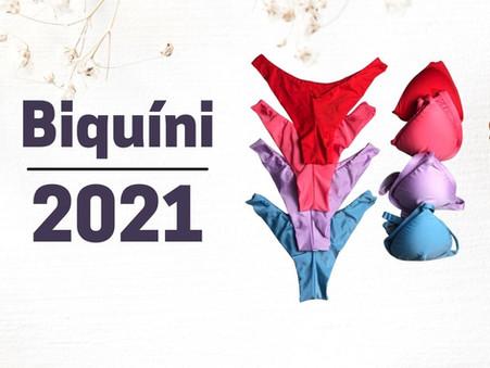 Biquíni 2021: infinidade de estilos para você escolher