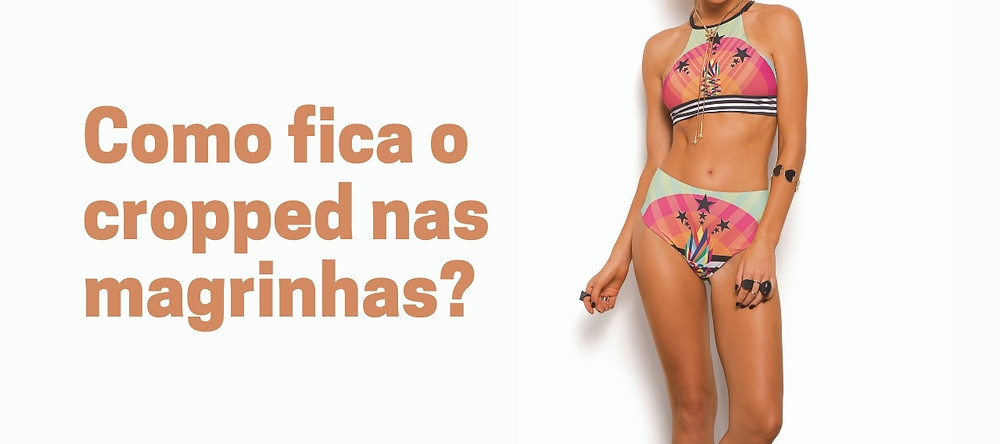 cropped mulher magra