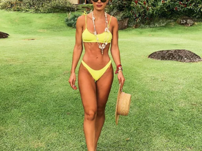 Biquíni amarelo: pra quem não quer passar em branco na praia