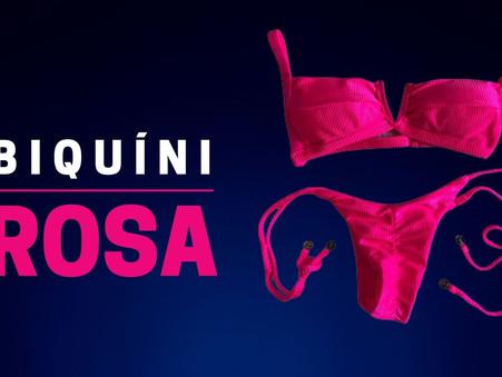 Biquíni Rosa: charme e feminilidade