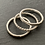 Thumbnail: Sterling Silver Stacking Rings