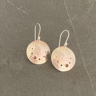 Garnet Earring Drops