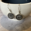 Thumbnail: Fossilised Coral and Sterling Silver Earring Drops