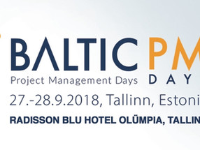 Welcome to Baltic PM days 2018!