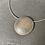 Thumbnail: Sterling Silver Domed Swirls Pendant