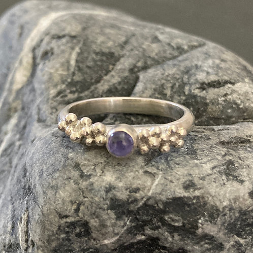 Tanzanite Bubbles Ring