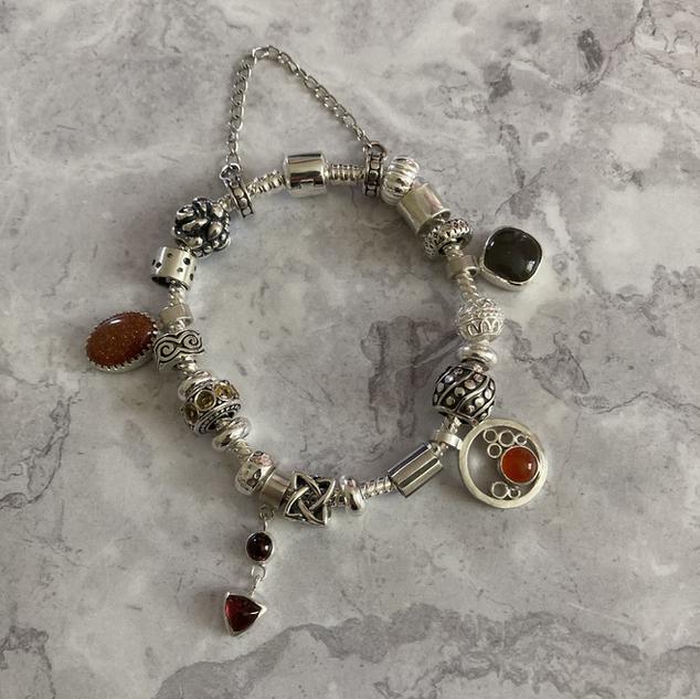 Bespoke charm bracelet Victoria Noyes