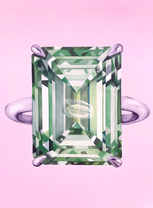 Value - Diamond series (Green) by Janny Tsang