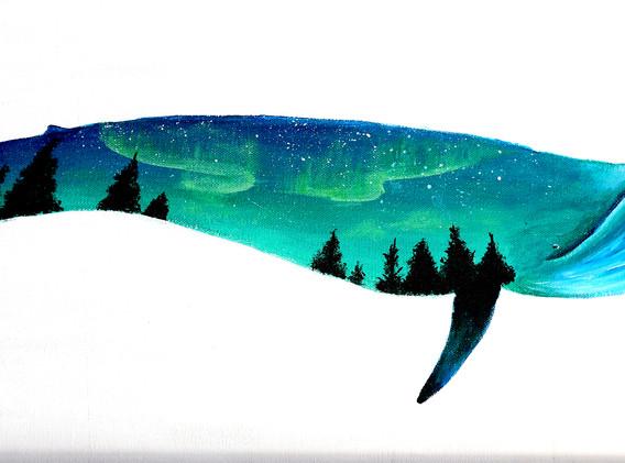 Leon Lollipop - Aurora Wale (40cm x 80cm
