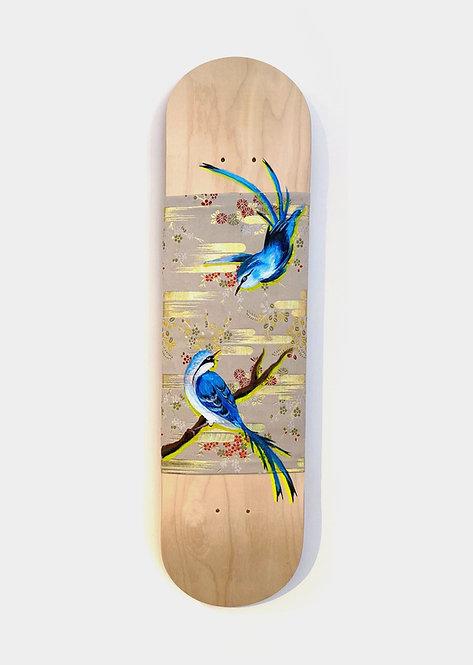 Love Bird Skateboard by Leonlollipop