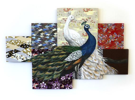 art tu,  LeonLollipop - Peacock Mosaic V