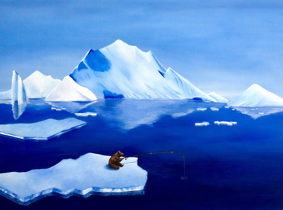 Debbie Kwok - Arctic Bear-Embrace the ic