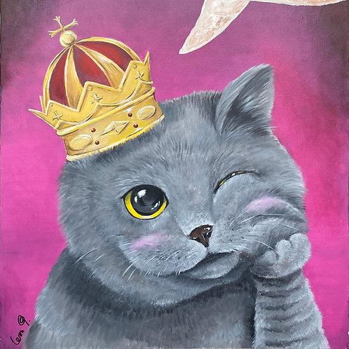 Lovesick Kitty by Leonlollipop