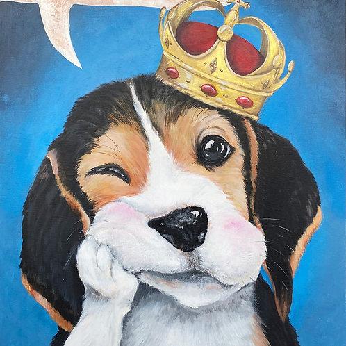 Lovesick Puppy by Leonlollipop